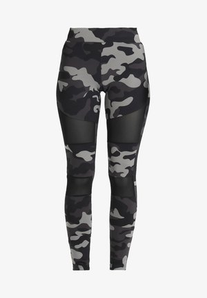 LADIES CAMO TECH - Legíny - grey