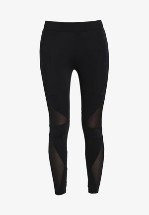 LADIES TRIANGEL TECH  - Legging - black/black