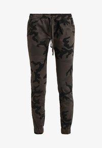 Urban Classics - LADIES CAMO PANTS - Trousers - grey - 6