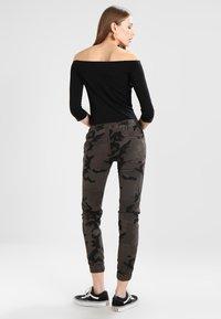 Urban Classics - LADIES CAMO PANTS - Trousers - grey - 2