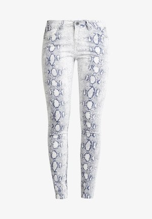 LADIES ANIMAL STRETCH PANTS - Jeans Skinny - offwhite