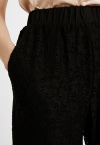 Urban Classics - LADIES PANTS - Pantalones - black - 4