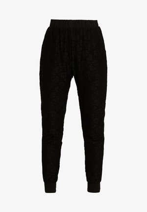 LADIES PANTS - Trousers - black