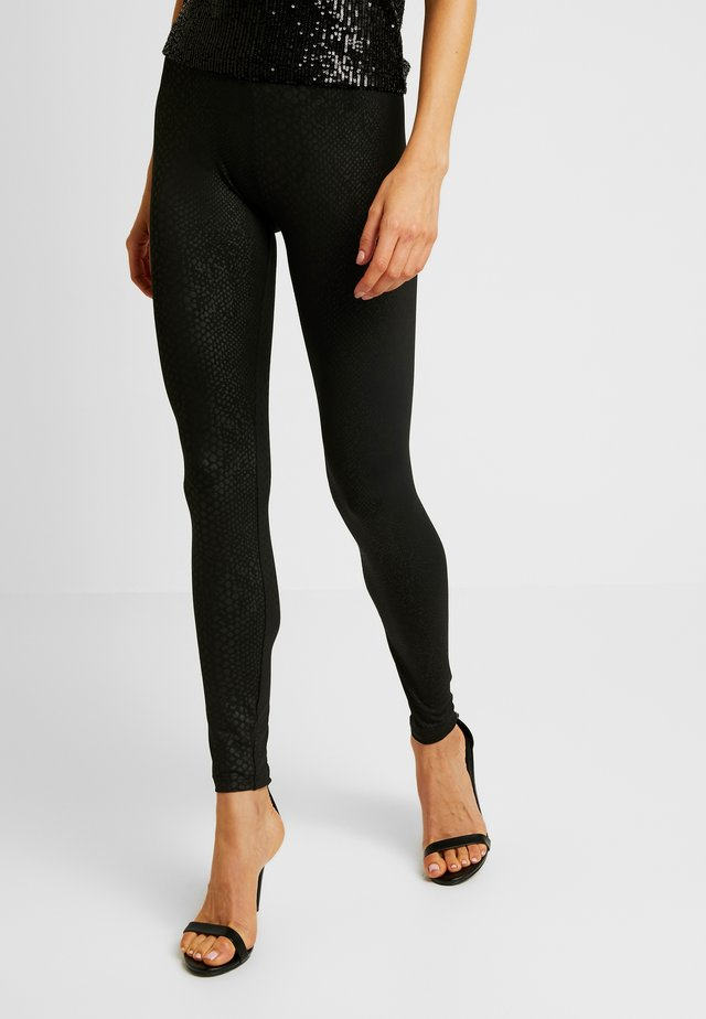 LADIES PATTERN - Leggings - black
