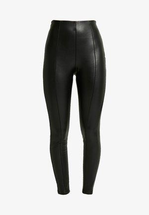 LADIES SKINNY PANTS - Pantalon classique - black