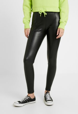 LADIES SKINNY PANTS - Stoffhose - black