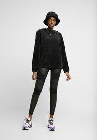 Urban Classics - LADIES FAKE TECH - Leggings - Trousers - black - 0
