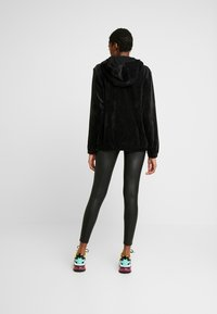 Urban Classics - LADIES FAKE TECH - Leggings - Trousers - black - 2