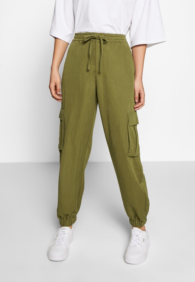 Spodnie materiałowe - summerolive
