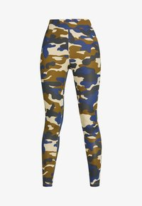 Urban Classics - HIGHWAIST CAMO TECH - Leggings - Trousers - summerolive - 3
