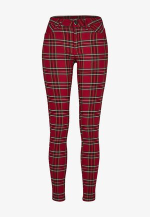 Trousers - red/blk
