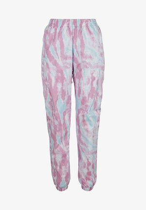 FRAUEN  - Pantalones deportivos - aquablue/pink