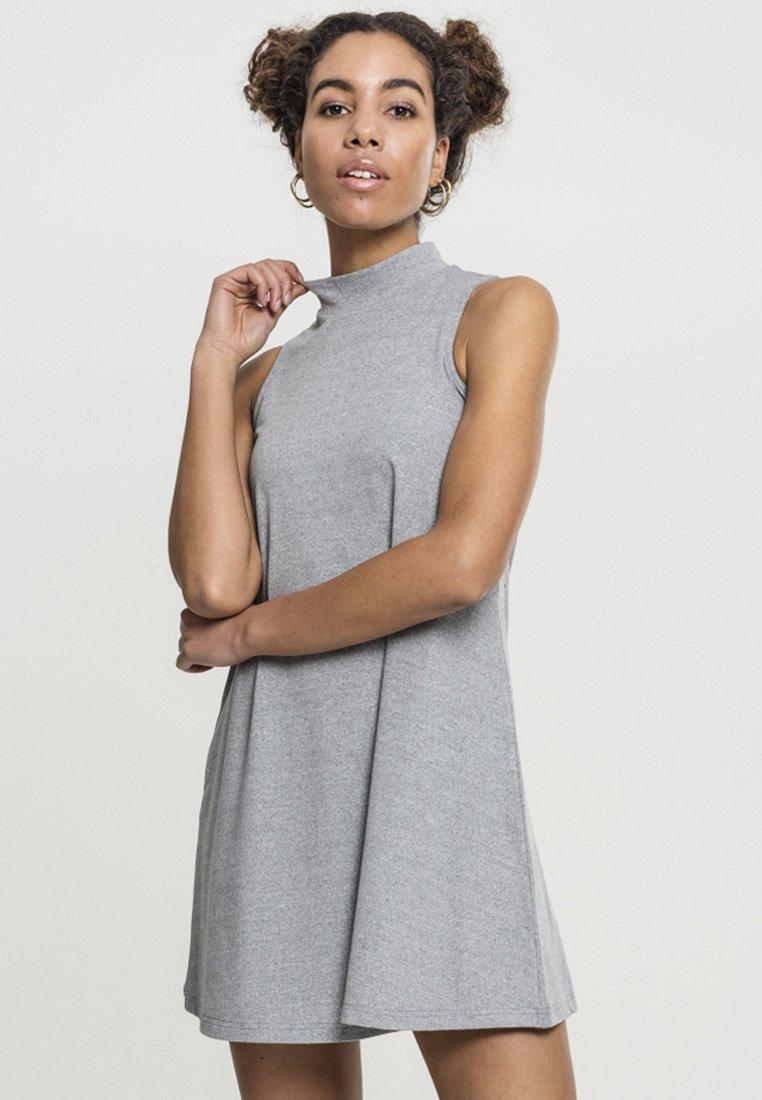 Classics Grey Turtleneck DressRobe D'été Urban fgyv76IYb