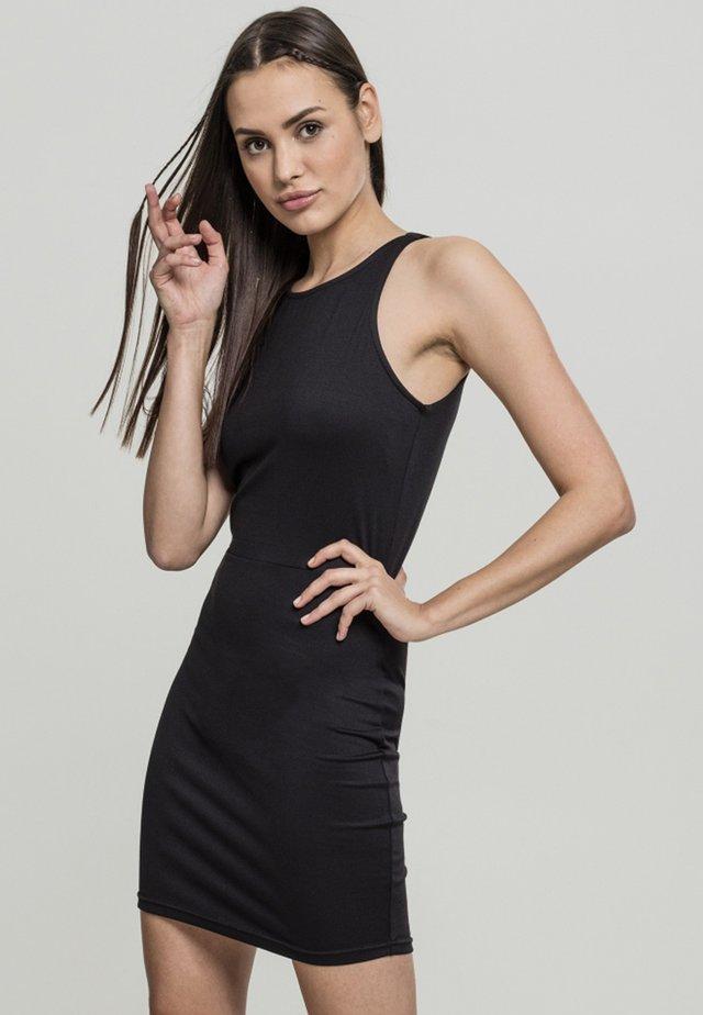 BACK CUT OUT DRESS - Korte jurk - black