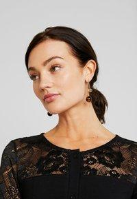 Urban Classics - LADIES BLOCK DRESS - Shift dress - black - 4