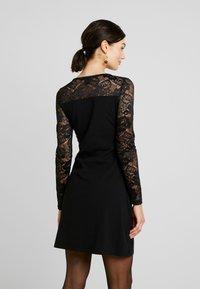 Urban Classics - LADIES BLOCK DRESS - Shift dress - black - 3