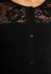 Urban Classics - LADIES BLOCK DRESS - Shift dress - black - 7