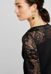 Urban Classics - LADIES BLOCK DRESS - Shift dress - black - 5
