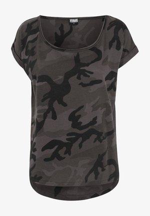 CAMO  - T-shirt imprimé - black