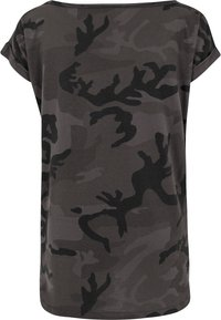Urban Classics - CAMO  - Print T-shirt - black - 1