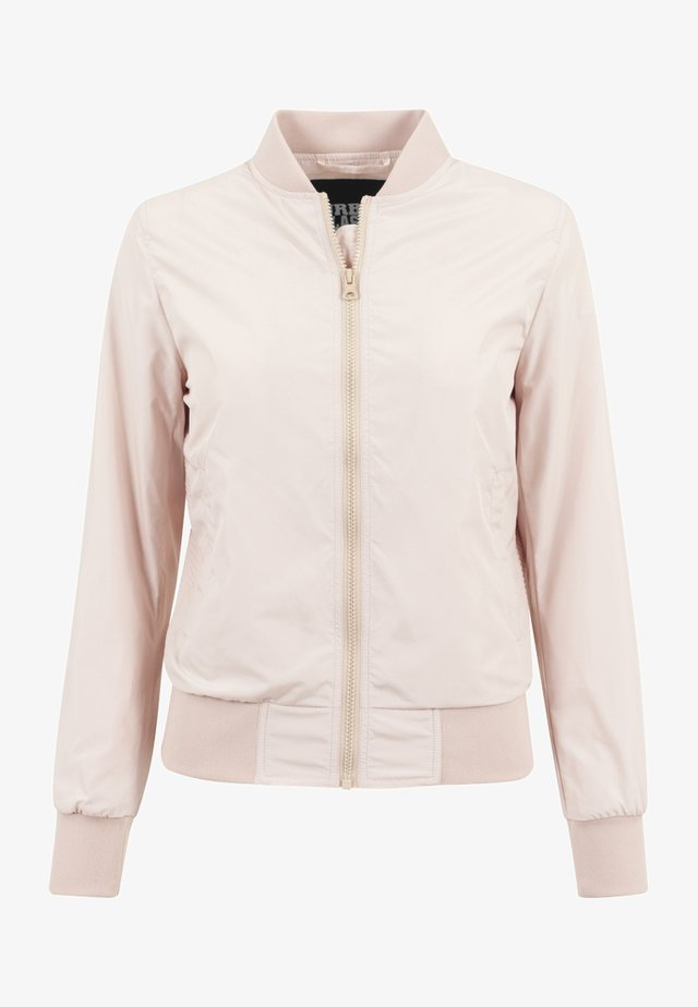 Bomberjacke - light pink