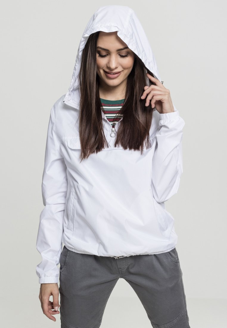 Urban Classics - LADIES BASIC  - Windbreaker - white