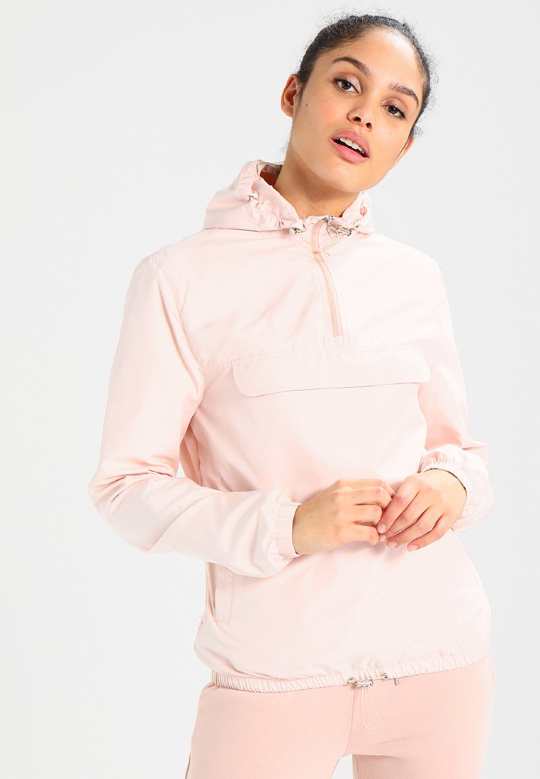 Urban Classics - LADIES BASIC  - Windbreaker - light pink