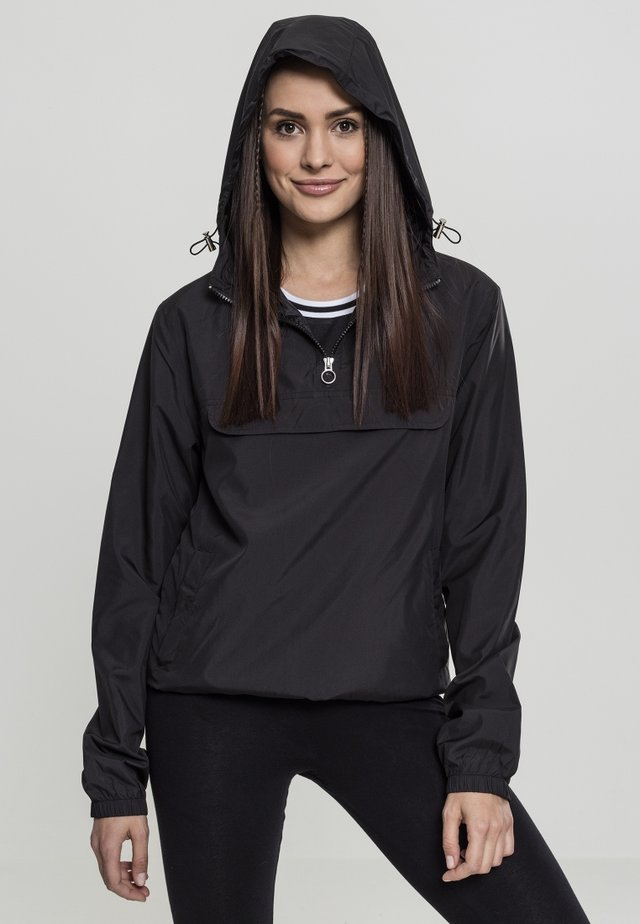 LADIES BASIC  - Windbreaker - black