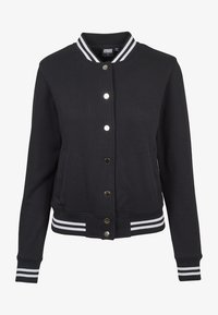 Urban Classics - COLLEGE SWEAT - Summer jacket - black - 1