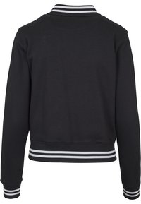 Urban Classics - COLLEGE SWEAT - Summer jacket - black - 2