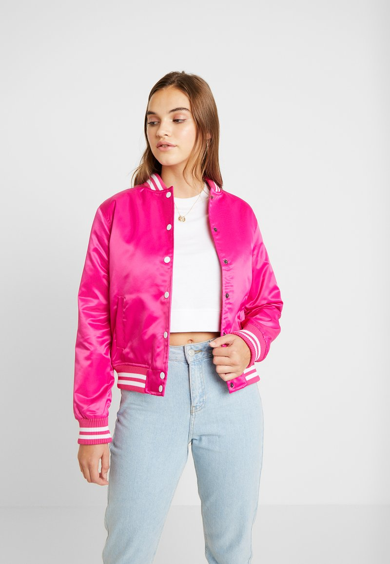 Urban Classics - Bomberjacks - pink