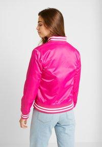 Urban Classics - Bomberjacks - pink - 2