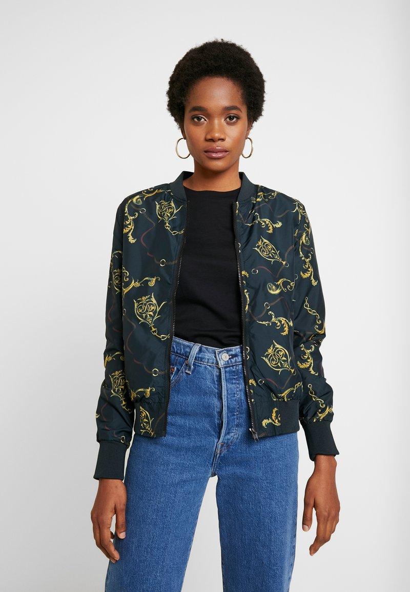 Urban Classics - LADIES BLOUSON - Bomber Jacket - luxury black