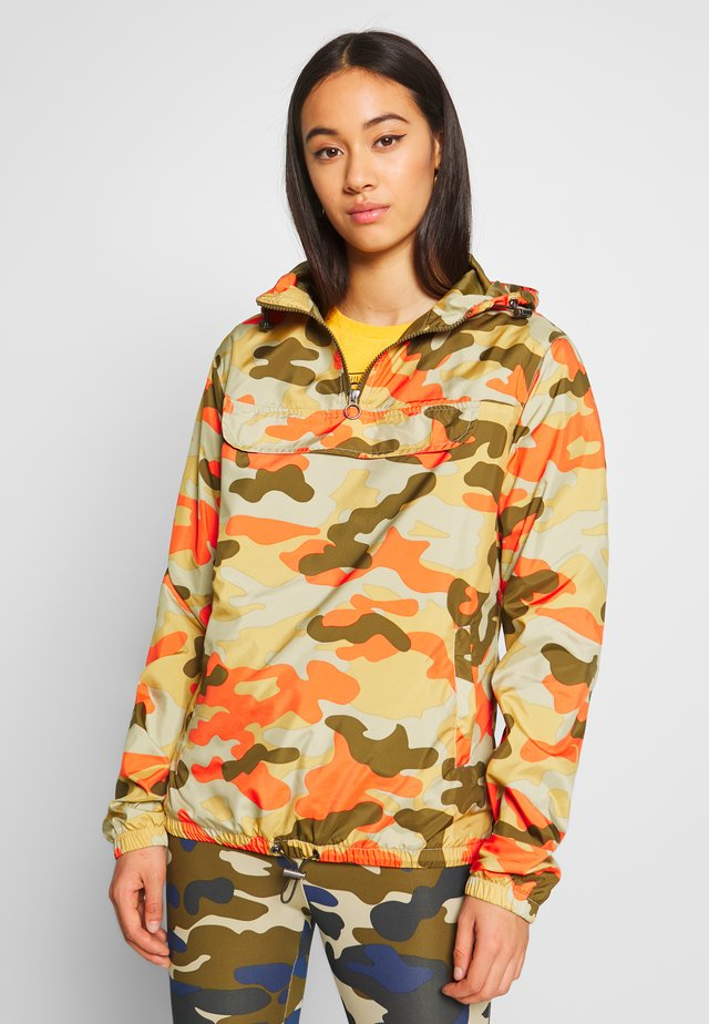 LADIES CAMO PULL OVER  - Sadetakki - olive