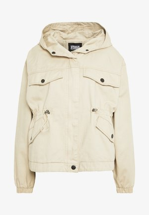 LADIES JACKET - Parka - concrete