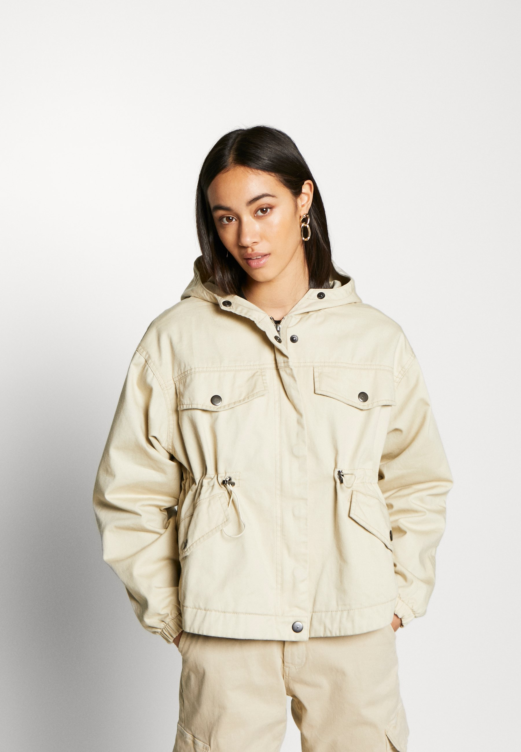 Urban Classics Ladies Jacket - Parka Concrete