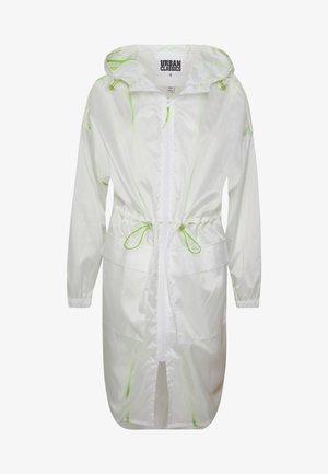 LADIES TRANSPARENT LIGHT - Training jacket - white/electriclime