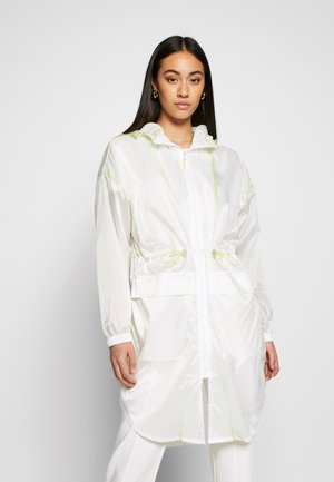 LADIES TRANSPARENT LIGHT - Training jacket - white/electriclime