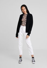 Urban Classics - LADIES BOMBER JACKET - Kardigan - black - 1