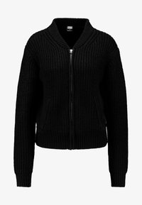 Urban Classics - LADIES BOMBER JACKET - Kardigan - black - 3