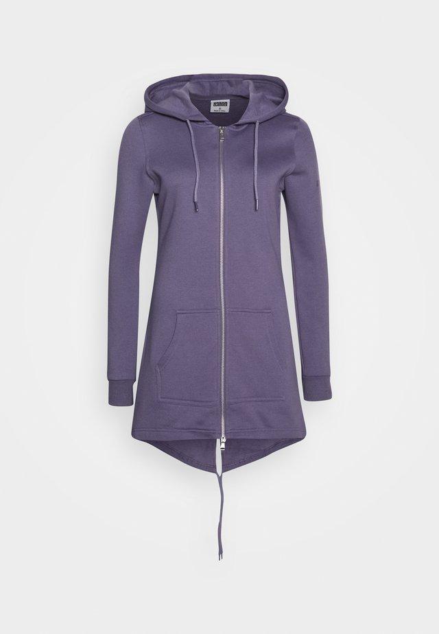 Bluza rozpinana - dusty purple