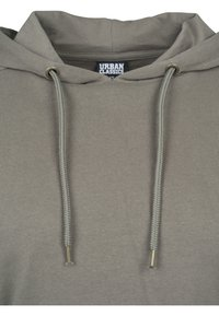 Urban Classics - CROPPED TERRY HOODY - Mikina skapucí - army green - 3