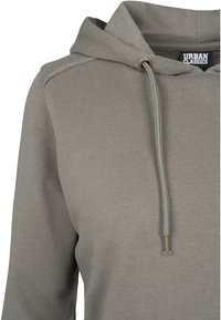 Urban Classics - CROPPED TERRY HOODY - Mikina skapucí - army green - 4