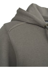 Urban Classics - CROPPED TERRY HOODY - Mikina skapucí - army green - 5