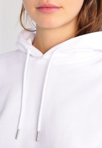 Urban Classics - LADIES HOODY - Huppari - white - 3