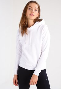 Urban Classics - LADIES HOODY - Huppari - white - 0