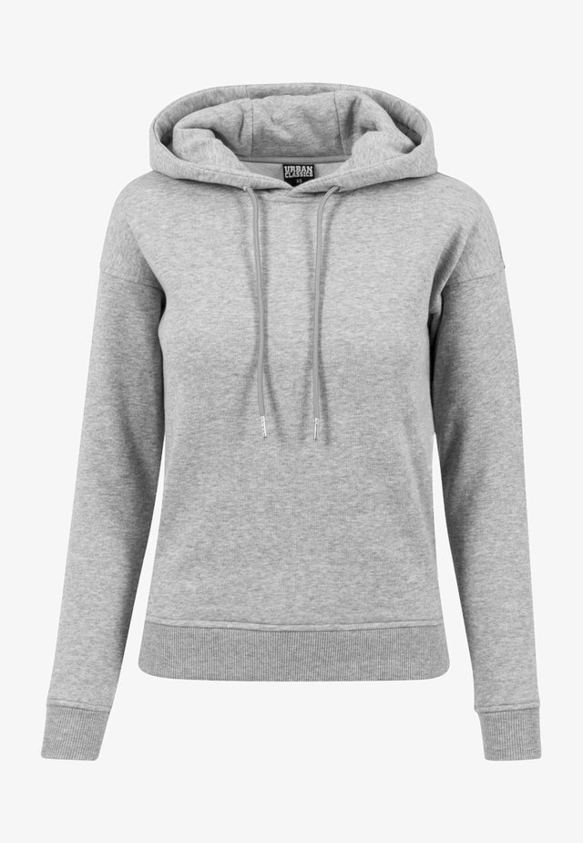 LADIES HOODY - Luvtröja - grey