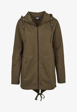 LADIES TERRY  - veste en sweat zippée - olive