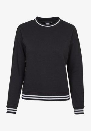 LADIES COLLEGE CREW - Sweatshirt - black
