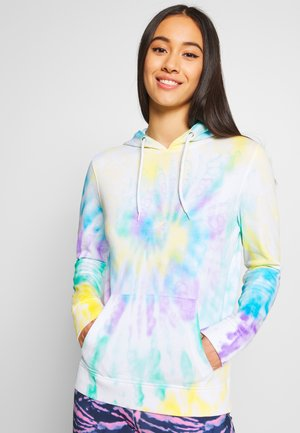 LADIES TIE DYE HOODY - Bluza z kapturem - multi-coloured